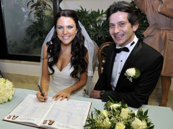 Roma'da Evlendiler
