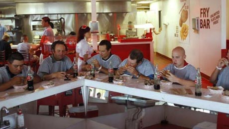 Kalp krizi geçirten lokanta!