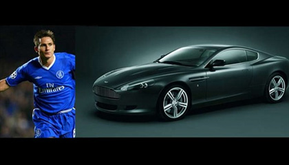 Frank Lampard-Aston Martin DB9