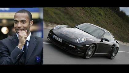 Thierry Henry- Porsche 911
