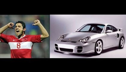Nihat Kahveci'nin ise Porsche 911 GT2