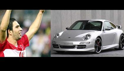 Arda Turan- Porsche 4S Carrera