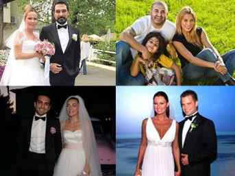 Ünlüler dünyasında kim kiminle evli?