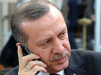 Başbakan'ın sürpriz telefon trafiği