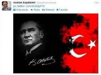 Baydemir'in Twitter hesabı hacklendi