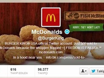 Hackerlerin son hedefi burger king oldu