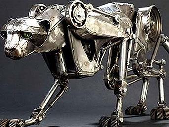 ABD'de DARPA Desteğiyle, Cheetah (Çita) İsimli, Usain Bolt'tan Hızlı Koşan Robot Yapıldı