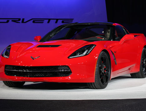 Corvette Stingray Debut on New 2014 Chevrolet Corvette C7 Stingray