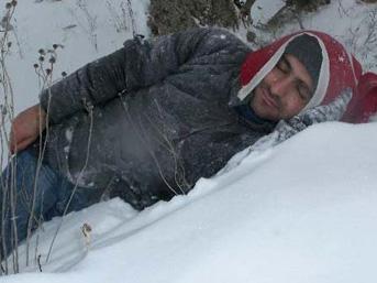 Karla gelen akılalmaz ölüm