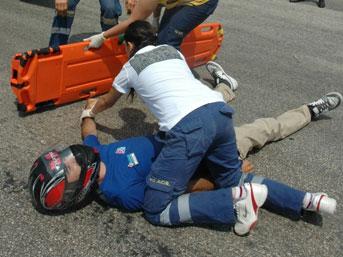Tekirdağ'da kaza anı MOBESE'ye yansıdı