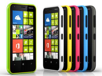 Windows phone 8 işletim sistemli akıllı telefon ailesinin yeni