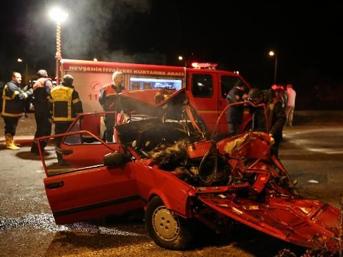 Nevşehir'de feci kaza: 3 ölü 2 yaralı