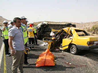 Mardin'de kaza: 4 ölü