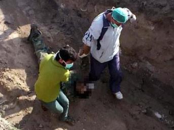 Suriye'den vahşet görüntüleri