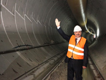 Dünyanın 5. büyük tüneli Suruç'ta