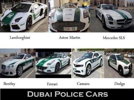 1.4 milyon dolarlık polis arabası