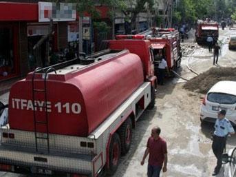 Fatih'te doğalgaz patlaması:2 ölü