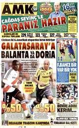 01 Ağustos 2014 Tarihli AMK Gazetesi