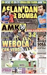 01 Eylül 2014 Tarihli AMK Gazetesi