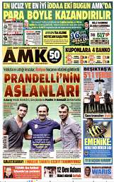 05 Eylül 2014 Tarihli AMK Gazetesi