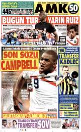 06 Ağustos 2014 Tarihli AMK Gazetesi