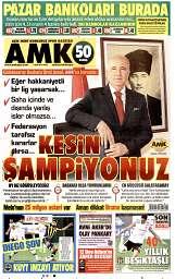 07 Eylül 2014 Tarihli AMK Gazetesi