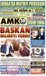 08 Ağustos 2014 Tarihli AMK Gazetesi