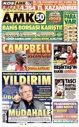 09 Ağustos 2014 Tarihli AMK Gazetesi
