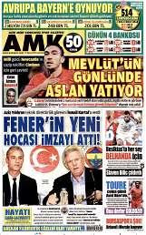 13 Ağustos 2014 Tarihli AMK Gazetesi