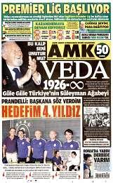 15 Ağustos 2014 Tarihli AMK Gazetesi