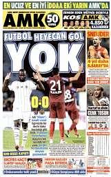 15 Eylül 2014 Tarihli AMK Gazetesi
