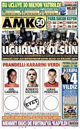 16 Ağustos 2014 Tarihli AMK Gazetesi