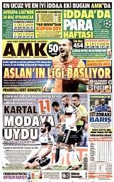 16 Eylül 2014 Tarihli AMK Gazetesi
