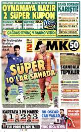 23 Ağustos 2014 Tarihli AMK Gazetesi