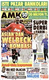 24 Ağustos 2014 Tarihli AMK Gazetesi