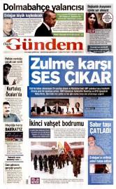 05 �ubat 2016 Tarihli �zg�r G�ndem Gazetesi