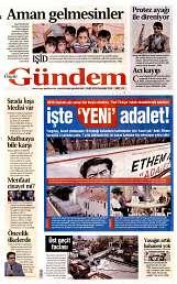 05 Eylül 2014 Tarihli Özgür Gündem Gazetesi