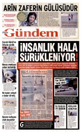 05 Ekim 2015 Tarihli �zg�r G�ndem Gazetesi