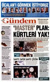06 �ubat 2016 Tarihli �zg�r G�ndem Gazetesi