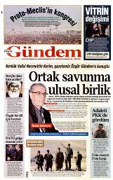 06 Eylül 2014 Tarihli Özgür Gündem Gazetesi