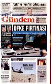 06 Ekim 2015 Tarihli �zg�r G�ndem Gazetesi