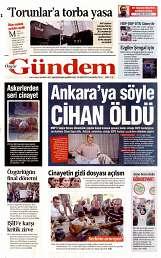 11 Eylül 2014 Tarihli Özgür Gündem Gazetesi