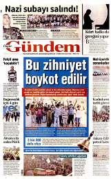 14 Eylül 2014 Tarihli Özgür Gündem Gazetesi