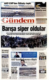 17 Nisan 2015 Tarihli �zg�r G�ndem Gazetesi