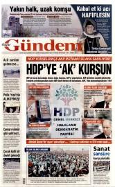19 Nisan 2015 Tarihli �zg�r G�ndem Gazetesi