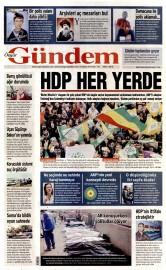 21 Nisan 2015 Tarihli �zg�r G�ndem Gazetesi