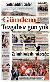 21 May�s 2015 Tarihli �zg�r G�ndem Gazetesi