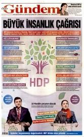 22 Nisan 2015 Tarihli �zg�r G�ndem Gazetesi