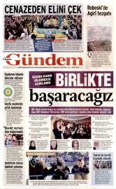 23 Nisan 2015 Tarihli �zg�r G�ndem Gazetesi