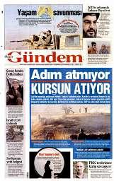 23 Ağustos 2014 Tarihli Özgür Gündem Gazetesi